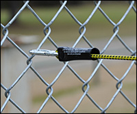 pre-cord fence attachment